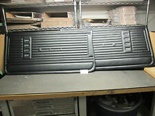 1967 67 CHEVELLE MALIBU NEW PAIR OF BLACK FRONT DOOR PANELS PREASSEMBLED