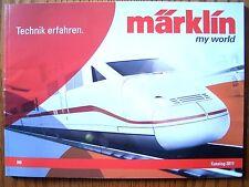 Märklin my world Katalog 2011 Primex / Hobby zu 29267 2922136501 29163 26565 NEU