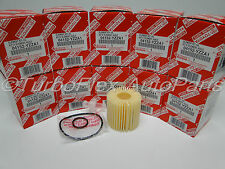 Toyota Genuine OEM Oil Filter 04152-YZZA1 Pack of 10
