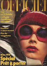 L'Officiel Winter 1976 - Issue  No. 617