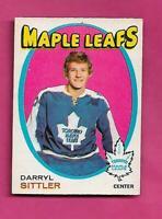 1971-72 OPC # 193 LEAFS DARRYL SITTLER 2ND YEAR GOOD CARD (INV# H0108)