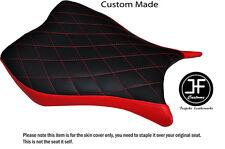DIAMOND STITCHING RED CUSTOM FITS HONDA CBR 1000 RR 13-15 FRONT VINYL SEAT COVER
