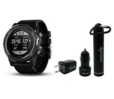 Garmin Descent MK1 010-01760-00 Dive Watch Wearable4U Bundle Silver, Black Band