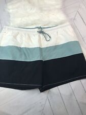 NWOT Goodfellow & Co Mens Thick Striped Swim Trunks Size-XXL