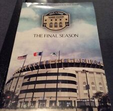 YANKEES 2008 final Season ticket info and fan guide..collectible