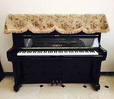 Beautiful Decorated Piano Half Cover Dust Cover Upright Piano 185cm X 70cm