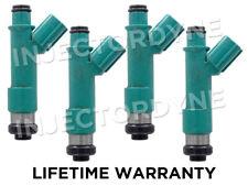 4 PCS Fuel Injectors fit 04-09 Toyota Camry //04-08 Toyota RAV4//Solara 2.4L I4