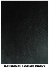 Black Decorative Vinyl for Upholstery, Cut by Yard or Roll