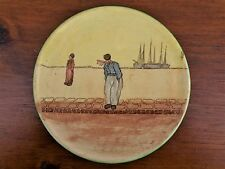 Royal Doulton Tea Pot Trivet, 1905 , Dutch Harlem boy with ships