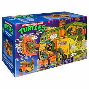 NEW Teenage Mutant Ninja Turtles TMNT Party Wagon Mutant Attack Van 2021 IN HAND