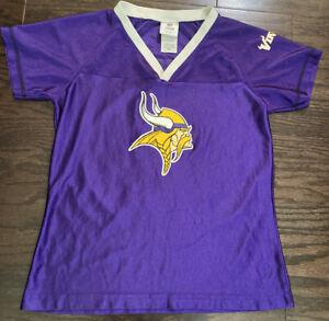 Jared Allen #69 MINNESOTA VIKINGS NFL Football JERSEY Womens Size Medium Purple