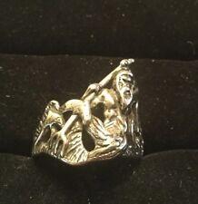 Vintage 1985 Neptune Poseidon Ring G&S Size 13.5
