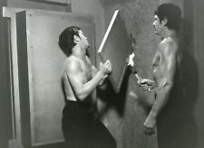 "ALAIN DELON CHARLES BRONSON ""ADIEU L'AMI"" JEAN HERMAN PHOTO DE PRESSE CINEMA CM"