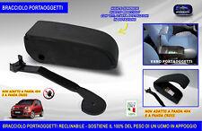 Bracciolo auto Fiat Panda 2012> poggiabraccio vano portaoggetti kit braccioli in