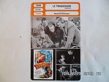 CARTE FICHE CINEMA 1949 LE TRAQUENARD Lloyd Bridges Barbara Payton John Hoyt