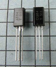 2SA684-Y & 2SC1384-Y, A684 / C1384 : 5 pair per Lot