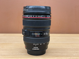 Canon L-series 24-105mm F/4 L IS USM Lens - Great Condition