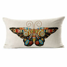 Linen Blend Rectangular Decorative Cushions & Pillows