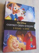 Coffret 4 DVD La Belle au bois dormant  -  Pinocchio  8717418204778