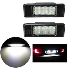 2x LED License Plate Light For Peugeot Citron Hatchback 106 207 307 308 406 407