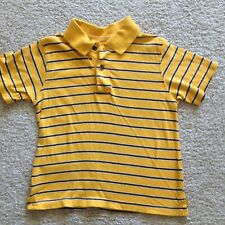 The Children's Place Boys Striped Polo size 3T yellow, blue/navy