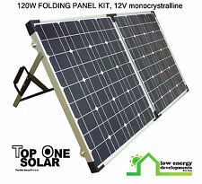 120W 12V Deluxe Folding Solar panel kit, New stock just arrived! - FREE FREIGHT