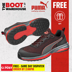 Puma SPEED 644497 Men's and Women's Light weight Metal Free Safety Shoe / Jogger