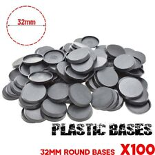 Lot-of-100Pcs-32mm-Round base-For-gaming-miniature & table game FREE SHIPPING