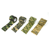 4 x Camo Tactical Hunting Camping Camouflage Stealth Duct Tape Wrap Hot