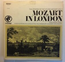 Karl Engel, Hans Koppenburg - Odyssey 32 16 0163 - Mozart in London V+/V