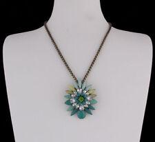 Modeschmuck-Halsketten & -Anhänger aus Glas mit Tropfen-Schliffform für Damen