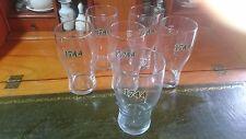 W H Worthington 1744 IPA Crown Stamped Tulip style Pint Glass
