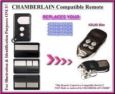 Chamberlain 4330E / 4332E / 4333E, 4335E compatible mando a destancia 433,92Mhz