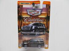 New Matchbox - Cadillac Series - Charcoal Black 2015 Cadillac Escalade