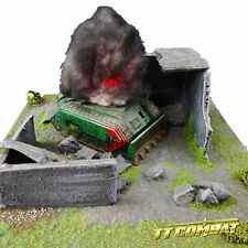 TTCombat - 2 x Flashing Wreck Markers Red Plasma - Great for 40k & Warmachine