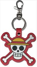 One Piece Keychain Key Chain Strawhat Pirates Logo Licensed Anime Manga NEW NWT