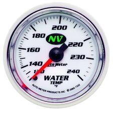 "Auto Meter 7332 2-1/16"" Water Temperature Gauge Mechanical NV NEW"