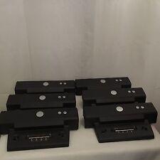 Lot Of 6 Dell Pr01X Dell Docking Station For Laptops
