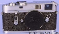 LEICA LEITZ M4 CHROME RANGEFINDER 10400 CAMERA BODY W/ CAP CLEAN