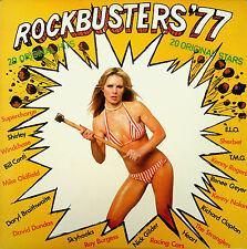 Rockbusters '77-LP-Skyhooks-Windchase-Ray Burgess-Richard Clapton- T.M.G -L27028
