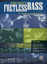 Steve Bailey's Fretless Bass Learn to Play Bass Guitar MUSIC BOOK & DVD