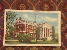 Vintage Postcard Alumnae Hall, Hood College, Frederick, Maryland