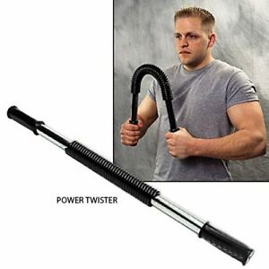 Deluxe Heavy Duty Power Twister 60KG Chest Expander Bend Bars Gym Home Training