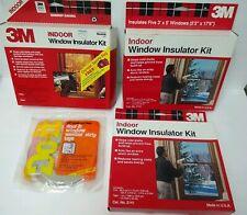 3M Window Insulator Kit Indoor Reducing Heating Cost Extra Storm Window Weather