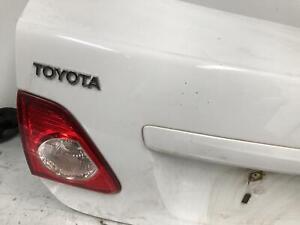Toyota Corolla Left Bootlid Lamp ZRE152 03/2007-10/2013