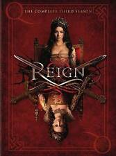 Reign TV Series ~ Complete 3rd Third Season 3 Three ~ BRAND NEW 4-DISC DVD SET