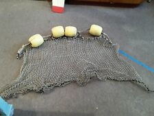 Vintage Authentic Look Fishing Net & 4 Floats