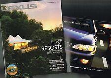 LEXUS Magazine + Cert. Pre-Owned Brochure: ES 300,LS 400,IS 250C,350C,SC 430,RX
