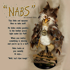 ONE OF A KIND - NABS THE OWL BY SUNNY BISS