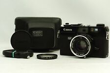 @ Ship in 24 Hours! @ Rare @ Canon Canonet QL17 Black 35mm Rangefinder 40mm f1.7
